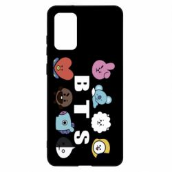 Чохол для Samsung S20+ Bts emoji