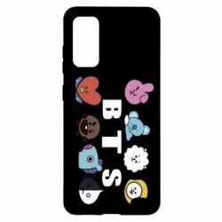 Чохол для Samsung S20 Bts emoji