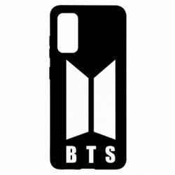 Чехол для Samsung S20 BTS logotype
