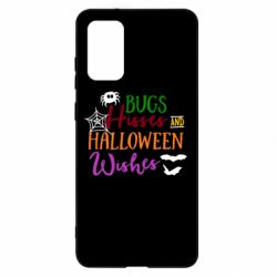 Чохол для Samsung S20+ Bugs Hisses and Halloween Wishes