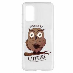 Чохол для Samsung S20 Caffeine Owl