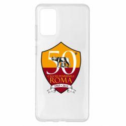 Чохол для Samsung S20+ Calcio Femminile Roma