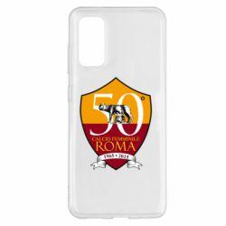 Чохол для Samsung S20 Calcio Femminile Roma