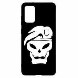 Чохол для Samsung S20+ Call of Duty Black Ops logo