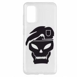 Чохол для Samsung S20 Call of Duty Black Ops logo
