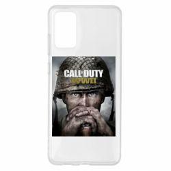 Чохол для Samsung S20+ Call of Duty WW2 poster