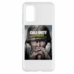Чохол для Samsung S20 Call of Duty WW2 poster
