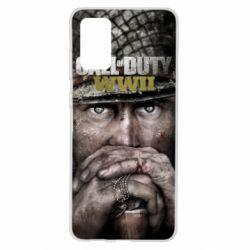 Чехол для Samsung S20+ Call of Duty WWII