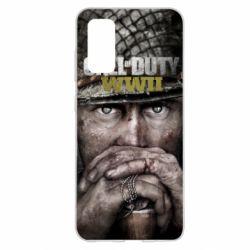 Чехол для Samsung S20 Call of Duty WWII