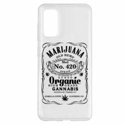 Чохол для Samsung S20 Cannabis label