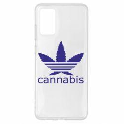 Чохол для Samsung S20+ Cannabis