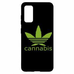 Чохол для Samsung S20 Cannabis