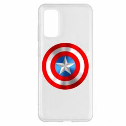 Чехол для Samsung S20 Captain America 3D Shield