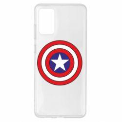 Чехол для Samsung S20+ Captain America