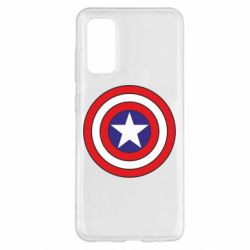 Чехол для Samsung S20 Captain America