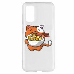 Чохол для Samsung S20 Cat and Ramen
