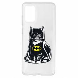 Чохол для Samsung S20+ Cat Batman