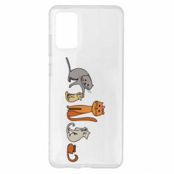 Чехол для Samsung S20+ Cat family