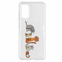 Чехол для Samsung S20 Cat family