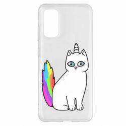 Чехол для Samsung S20 Cat Unicorn