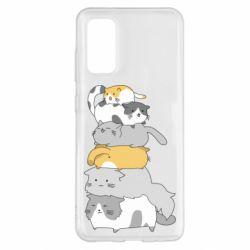 Чохол для Samsung S20 Cats