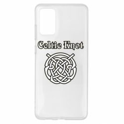 Чохол для Samsung S20+ Celtic knot black and white