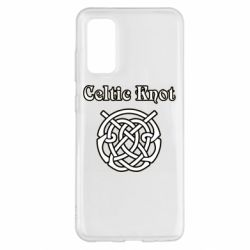 Чохол для Samsung S20 Celtic knot black and white