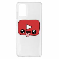 Чохол для Samsung S20+ Cheerful YouTube