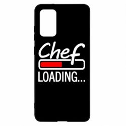 Чехол для Samsung S20+ Chef loading