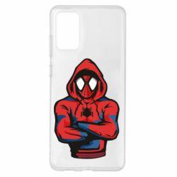 Чохол для Samsung S20+ Людина павук в толстовці