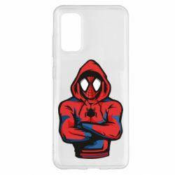 Чохол для Samsung S20 Людина павук в толстовці