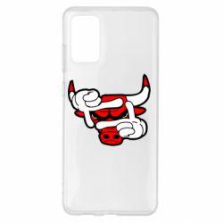 Чехол для Samsung S20+ Chicago Bulls бык