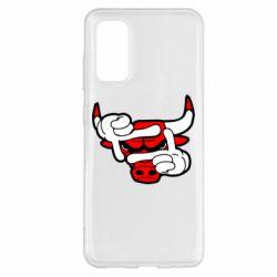 Чехол для Samsung S20 Chicago Bulls бык