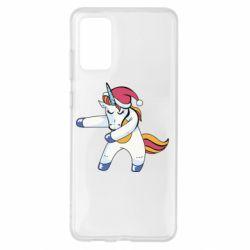 Чохол для Samsung S20+ Christmas Unicorn