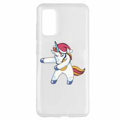 Чохол для Samsung S20 Christmas Unicorn