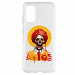Чохол для Samsung S20 Clown McDonald's skeleton