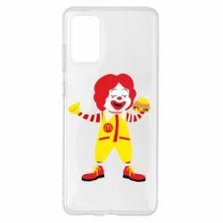Чохол для Samsung S20+ Clown McDonald's