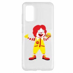 Чохол для Samsung S20 Clown McDonald's