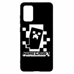 Чохол для Samsung S20+ Color Minecraft