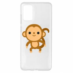 Чохол для Samsung S20+ Colored monkey