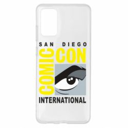 Чохол для Samsung S20+ Comic-Con International: San Diego logo