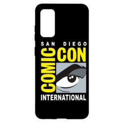 Чохол для Samsung S20 Comic-Con International: San Diego logo