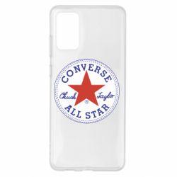 Чохол для Samsung S20+ Converse