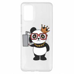 Чохол для Samsung S20+ Cool panda