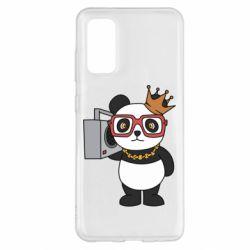Чохол для Samsung S20 Cool panda