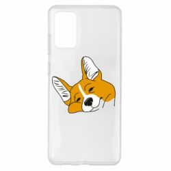 Чохол для Samsung S20+ Corgi is dozing