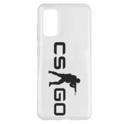Чехол для Samsung S20 Counter Strike GO