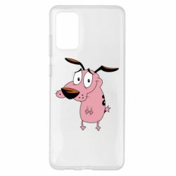 Чохол для Samsung S20+ Courage - a cowardly dog