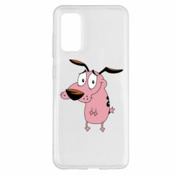 Чохол для Samsung S20 Courage - a cowardly dog