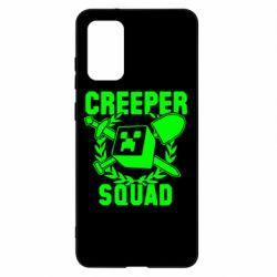 Чохол для Samsung S20+ Creeper Squad